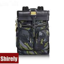 Tumi 【Shirely.My】【Ready Stock】 London Roll Top Laptop Backpack 232388 Size:45*34*14Cm(Pre-Order)