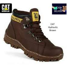 Caterpillar Men 'S Safety Boots Iron Tip Hiking Touring Bikers Tracking Hydraulic