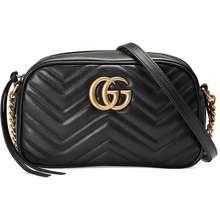 48fb68816b6c Gucci GG Marmont Small Matelassé Shoulder BAG