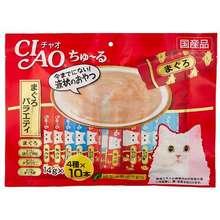Ciao Chu Ru 40 Pcs Tuna/Chic Mix Variety Cat Treats ~