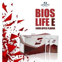 Unicity Bios Life E – Botanical Beverage Mix Matcha Green Tea With Pomegranate