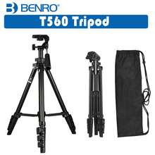 Benro T560 Portable Lightweight Tripod For Photography Videography