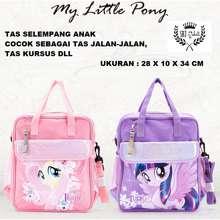 My Little Pony Tas Sekolah Anak / Tas Kursus / Tas Jinjing Multifungsi