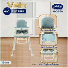 Pliko Baby High Chair Velo 4In1 Hc-560/ Kursi Makan Bayi 4In1