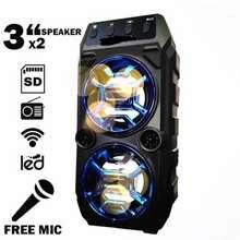 Kuku Cod Rechargeable Portable Karaoke Speaker With Free Mic Kts -1062