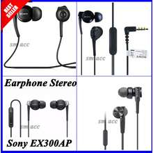 SALE SONY Accessories Sony Headset / Handsfree / Earphone Stereo Sony EX300AP Original ( black ) (