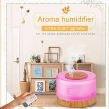 Aroma Ultrasonis Diffuser Humidifier 7Colorful Led 500ml