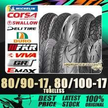 Tmax Tayar Tubeless Tyre Tm818 80/90-17 T-Max Diamond