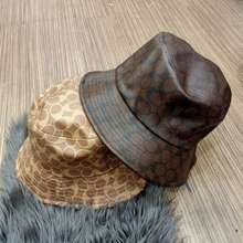 Coach Topi Bucket Hat Signature Topi Premium Impor
