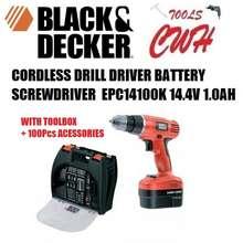Black & Decker EPC14100K Cordless Drill Malaysia