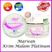 eleora Cream Platinum Whitening - Krim malam platinum/ mencerahkan wajah/ glowing sempurna