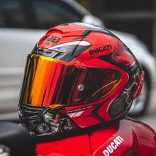 Shoei X14 Full Face Motorcycle Helmet X14 Ducati Red Color Helmet Riding Motocross Racing Motobike Helmet