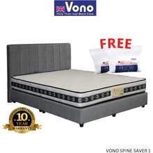 Vono Spine Saver 1 Queen Size Mattress (Free 2 Pillow And 1 Unit Limited Edition Umbrella) 15 Years Warranty