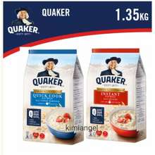 Quaker 24Hours* Post Instant Or Quick Cook Oatmeal 1.35Kg Expiry Year 2022