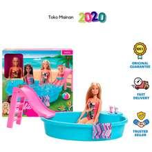 Barbie Pool Doll Original Mainan Anak Boneka Ghl91