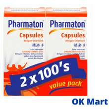 Pharmaton Multivitamin Capsule 100S X 2 (Exp: 05/2022)