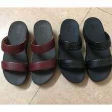 FitFlop Sandal Slop New Leather Kulit Asli