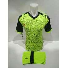 Jersey Baju Kaos Olahraga Setelan Bola Futsal Volly Ad 02 Stabilo