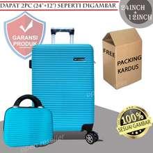 Polo Koper Set 24 Inch + 12 Inch ( Dapat 2 Pc ) Bahan Fiber / Abs 010 Original