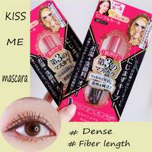 Kiss Me Heroine Make Advance Long Curl Mascara Film Dense Fiber Length