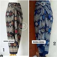 Miracle Rok Lilit Batik Reghina Maxi Skirt Wanita