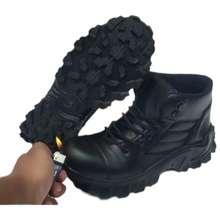 Camel MARVEL S Sepatu KULIT ASLI Boots Safety Zipper Temali Pria Leather  Full Up fd5011fa9d