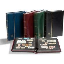 Leuchtturm1917 Leuchtturm 64-Black Page Postage Stamp Album Ls4/32 Binder Philately Collection