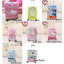 Hello Kitty [LOGU] Sarung koper , Melody, Doraemon, Luggage Cover, Pelindung