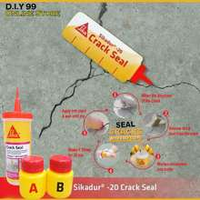 SIKA CNY dur 20 Crack Seal Repair Cement Floor