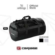 Caribee Kokoda 90L Gear Duffle Bag - Black / Grey