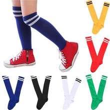 CHI ldren Girls Boys Socks Over-knee Cotton Blend Football Socks Toddler New Baby Socks Girls Boys Fall Winter Leg Warmers