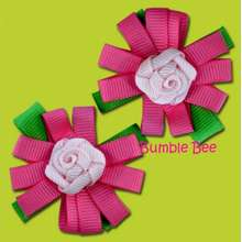 Bumble Bee - Hair Clips (Hb0049)