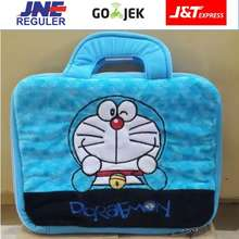 "Doraemon Tas Laptop Bulu 14"" ..."