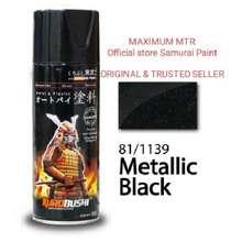 Samurai Paint/black Metalic 1139-cat Semprot Aerosol