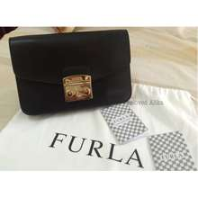 Furla metropolis black nwot authentic 51fd716160