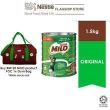Milo NESTLE ACTIV-GO CHOCOLATE MALT POWDER Tin 1.5kg