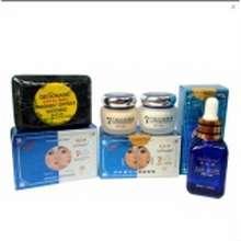 "SALE Deoonard ""Paket Komplit Whitening Cream Biru / Blue 20gr (Cream,Sabun Hitam,"