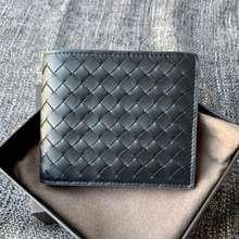 Bottega Veneta Intrecciato Bifold Leather Wallet Original