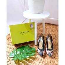 Ted Baker Pointy Heels High Fashion Black Heels Designer High Heels
