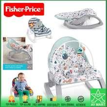 Fisher-Price Fisher Price Newborn To Toddler Rocker Portable Bouncer Baby Swing Chair Infant - Rainfore Friends / Geo Diamond