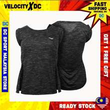 DC WW V038 WOMEN TRAINING TEE SHORT SLEEVE (BLACK)