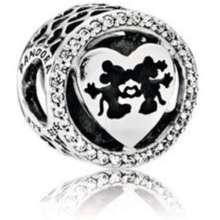Pandora Mickey and Minnie Love Charm