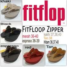 67573ba97d44 FitFlop sandal jepit cewek woman zipper murah