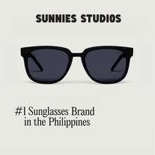 26746575a46 Sunnies Studios Corey Square Sunglasses for Men and Women (Ink Gradient)