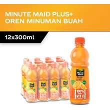 Minute Maid Pulpy Pet - Orange/Tropical (300Ml X 12)