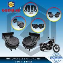 Global ⭐Knight Motorcycle Snail Horn 2Pcs 1Pair