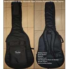 Taylor Semi Gigbag Gitar Akustik Tipe 3 Extra Padded Bordir