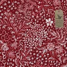 Cek Batik - Kain Batik Motif Melati V1 Unik Classic (Merah Maroon Manis)