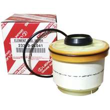 toyota toyota genuine parts fuel filter 23390-0l041 for innova/ fortuner /  hi-