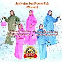 Sun Jas Hujan Flower Mlxl Model Rok Flower Bukan Edelweiss Ukuran Xl